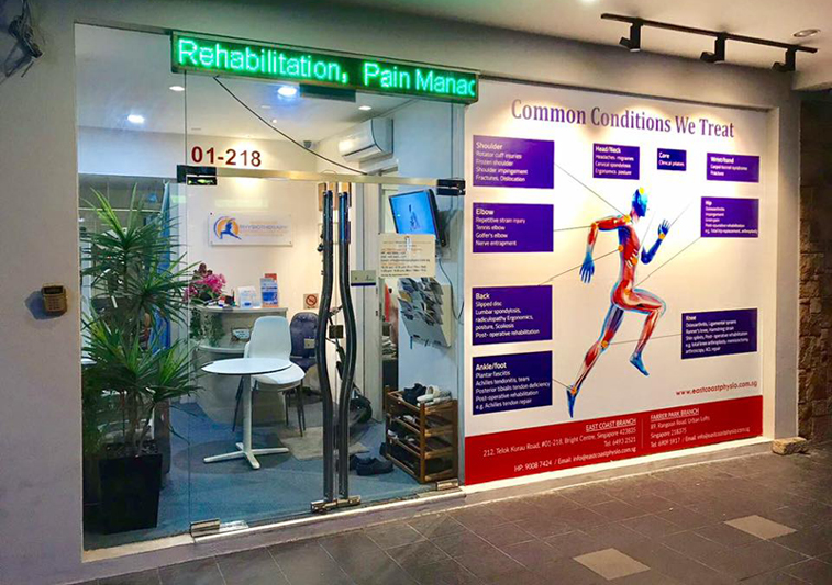 Best physiotherapy clinic singapore