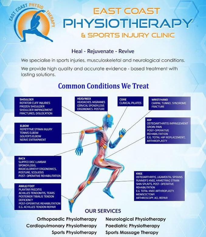 Best physiotherapist in Singapore